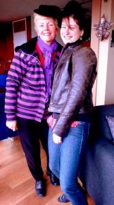 Annie + Melanie from France
