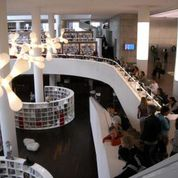 Looking for free WiFi or an English-language newspaper? Visit the library! Photo Credit: Amsterdam Marketing