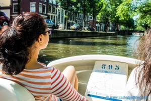 Why take a canal cruise when you can captain your own paddleboat?