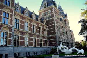 Admission to the Rijksmuseum gardens is free!