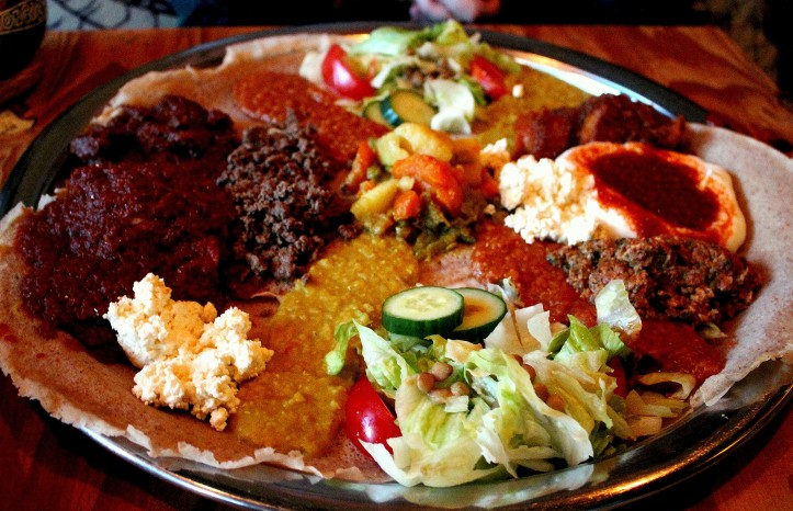 Come hungry and eat with your hands at Abyssinia