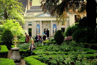Museum Van Loon is one of many venues that open  private gardens to visitors during Open Garden Days.