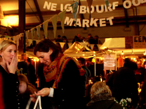 The Neighbourfood Market is a great place to shop for holiday gifts.