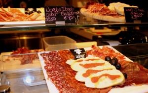 Taste Iberico ham at Jabugo.