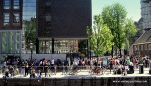 Do you really want to wait in a line like this to visit the Anne Frank House?