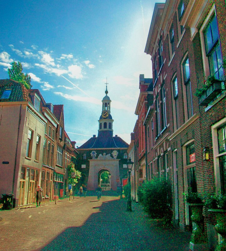 Leiden is the birth city of Rembrandt van Rijn (1606-1669, argua